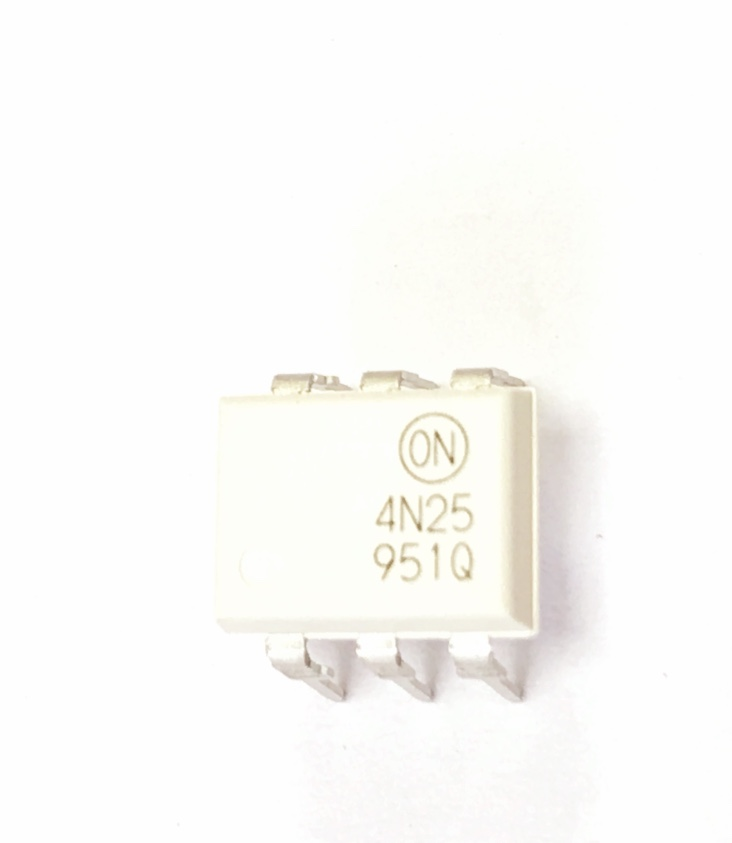 CIRCUITO INTEGRADO 4N25 OPTO ACOPLADOR DIP6 ON SEMIC