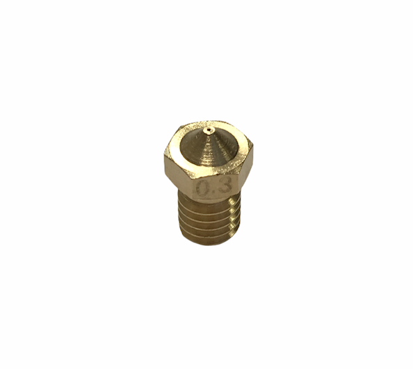 BICO 0,3MM HOT END MK8 PARA FILAMENTO 1,75MM