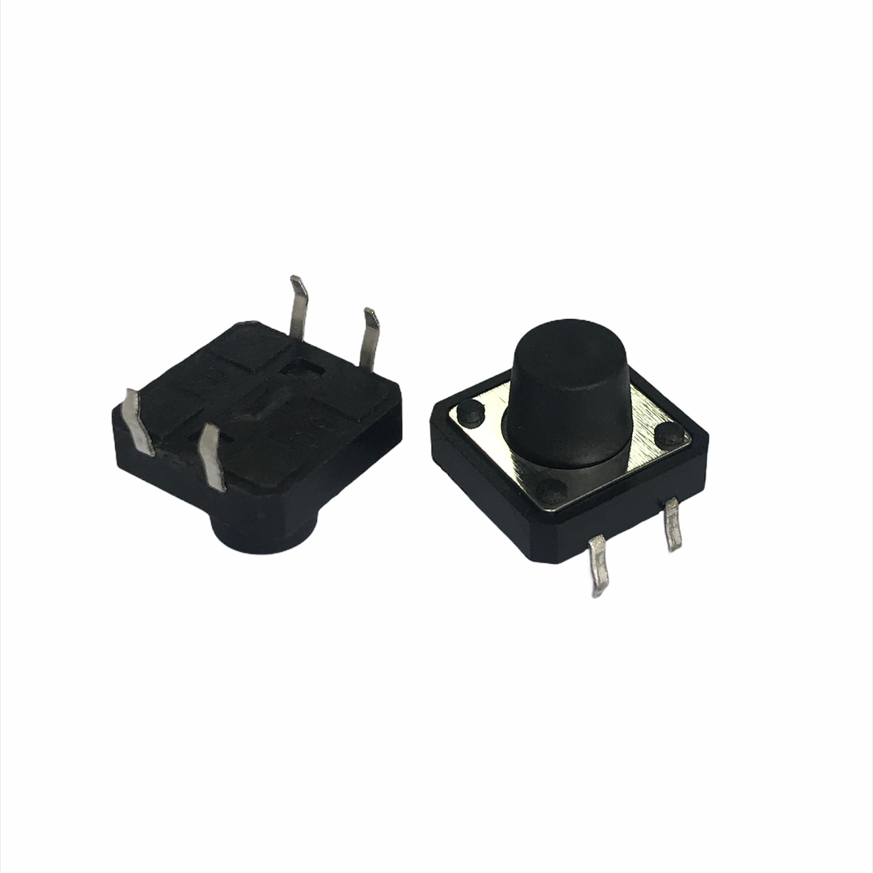 TACT SWITCH 12X12X8,5MM 4T 180 GRAUS (CHAVE TACTIL)