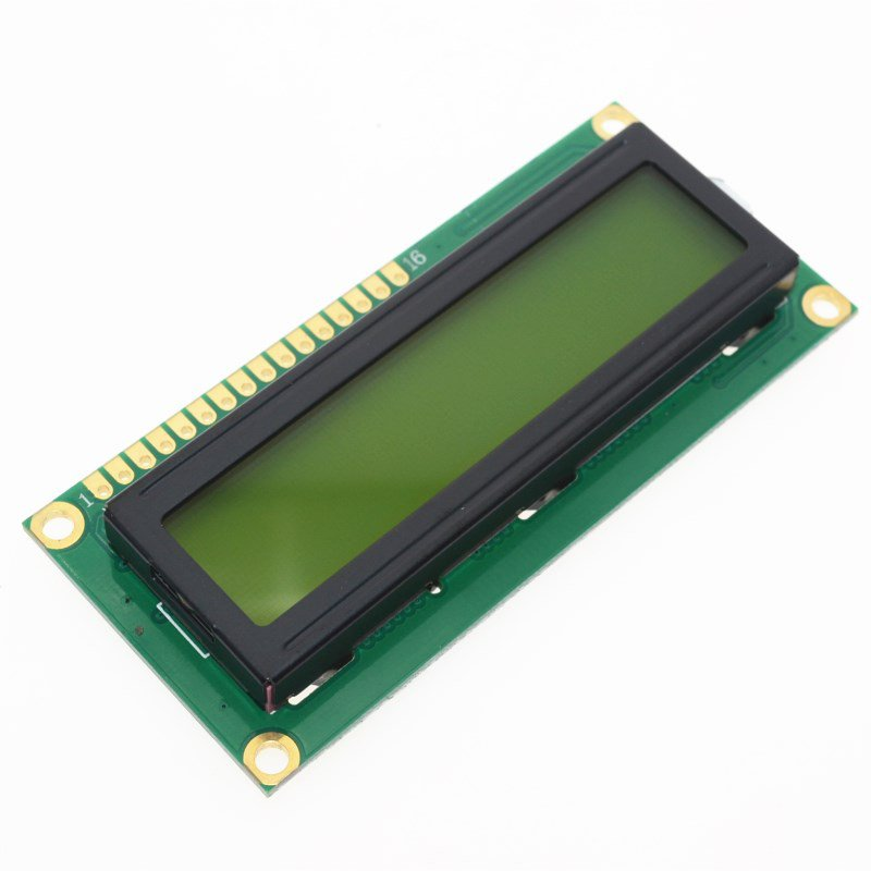 DISPLAY 16X2 LCD JHD162A C/BACKLIGHT VERDE (0009-1-2)
