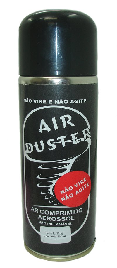 SOPRÃO AR COMPRIMIDO AIR DUSTER 164ML/200G IMPLASTEC